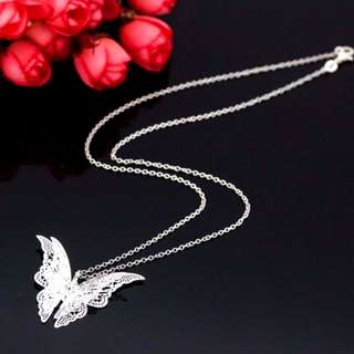 🦋BUTTERFLY 🦋NECKLACE 3D🦋