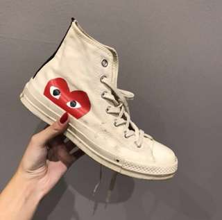 AUTHENTIC CDG CONVERSE