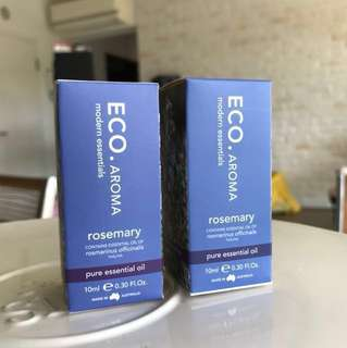 Eco Aroma Rosemary Essential Oil (10ml)
