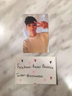 Going Seventeen Make The Seventeen The8 Minghao Photo card pc