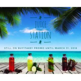 Juice Station - on buy1 take1 promo