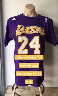 Kobe Bryant Lakers Adidas Tee