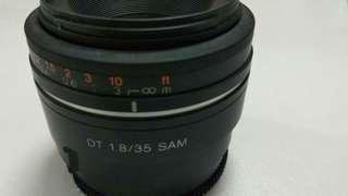 Sony 35mm f1.8 50mm f1.8