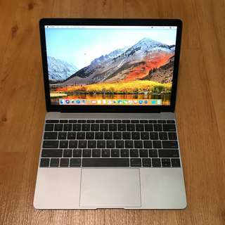MacBook 12 inch w M7 processor and 512 GB Space Grey (Top specs)
