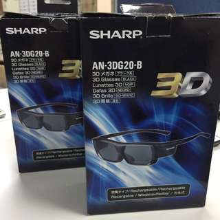 "New 3D glasses ""SHARP"""