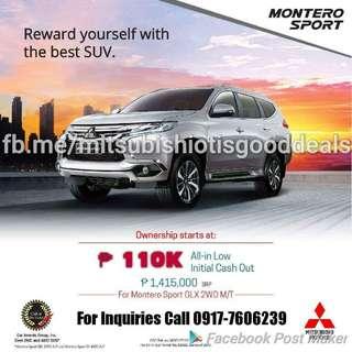 Mitsubishi Montero GLX M/T 2017