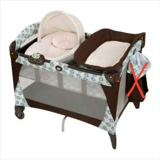 Graco pack n play crib