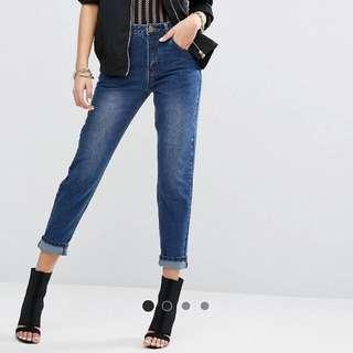 全新英國品牌牛仔褲(95%純棉)size:36
