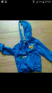 free mail: boys hooded zip jacket 4 to 5 year old