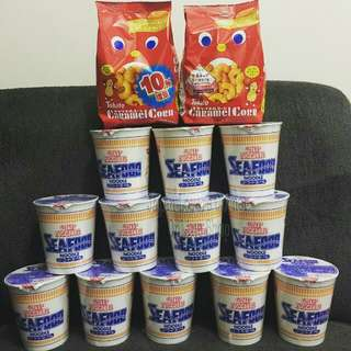 JAPAN CUP NOODLES SEAFOOD
