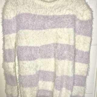 FREE ONGKIR‼️ Fur Sweater // Sweater Bulu