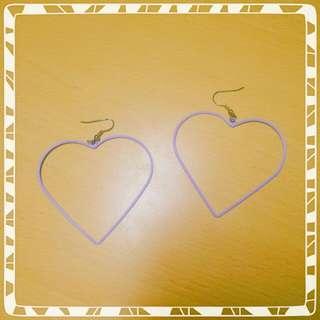 (🎉二手精品)WEGO 日本 愛心 耳環