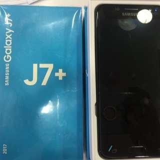 Samsung J7+ Credit