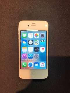 白色iphone 4s,16GB,100%正常