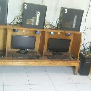 Warnet ps2 7 unit +1 server