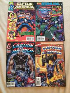 My son's collection- captain America classics - 4 books all in good condition