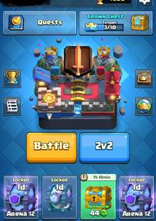 Clash Royale Level 12 Account