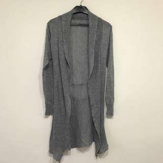 降價❗️(含運)百搭灰色罩衫Size:S