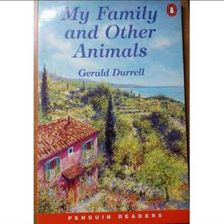 Penguin Readers - My Family and Other Animals by Gerald Durrell
