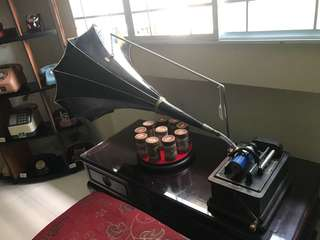 Antique Edison Cylinder Phonograph