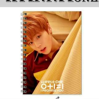 Wanna One I PROMISE YOU Notebook