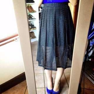 FOREVER NEW Blue Skirt