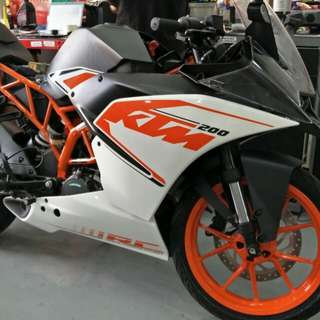 Brand new KTM RC 200 for sale!!!