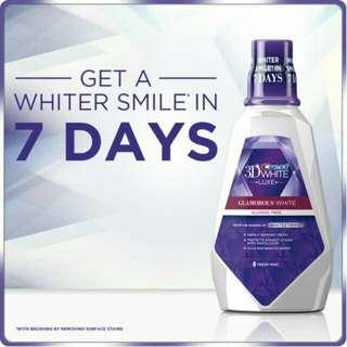 946mL Crest 3D White Luxe Multi-Care Rinse