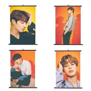 BTS HANGING SCROLL POSTER