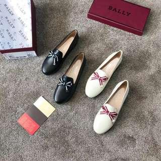 Bally 蝴蝶結超舒服平底鞋