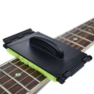 Acoustic Electric Bass Guitar String Cleaner Ukulele Quick-Set Brush Tool for Stringed Musical Instruments Parts Accessories