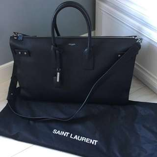 Saint Laurent Sac De Jour Souple 48H Cabin Luggage Duffle Keepall Carryon Bag