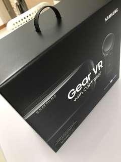Samsung VR gear with controller bnib