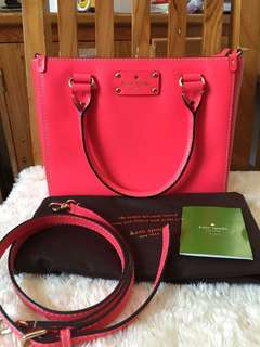 Authentic Kate Spade Small Quinn