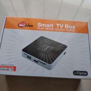 Bnib redbean iflame smart tv box uhd 4k