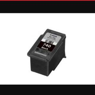 740 Canon Printer Ink