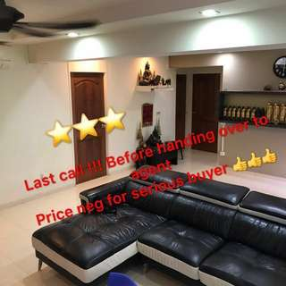 🥇CHOA CHU KANG lover !4 rm for SALE! @Blk 415 Cck ave 4