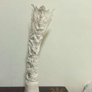 🚚 牛骨雕刻雷神