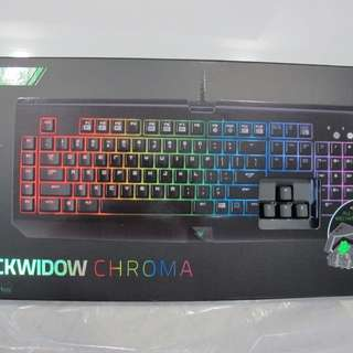 Razer Gaming Keyboard Blackwidow Chroma