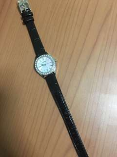 New Seiko ladies leather watch