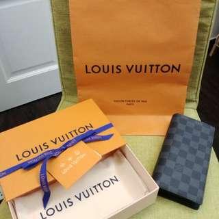 LV Brazza Wallet for Men N62665 (In stock)