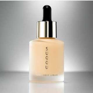 最新 現貨 Suqqu Nude Wear Liquid Foundation 101 102 spf15