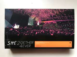 S.H.E《2gether 4ever》演唱會影音館 3DVD