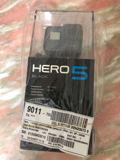 全新Black GoPro Hero 5