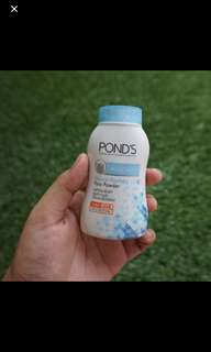 Pond's powder blue matte