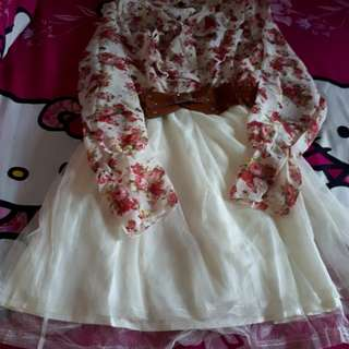 Dress bunga bunga