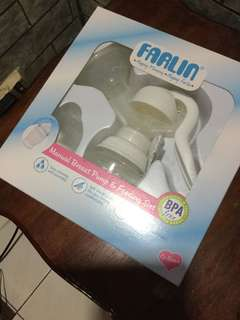 Farlin Breast Pump & Feeding Set