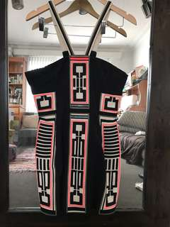 Sass & Bide geometric dress
