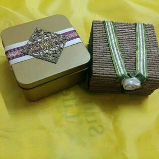 Box for accesories (2 boxes)