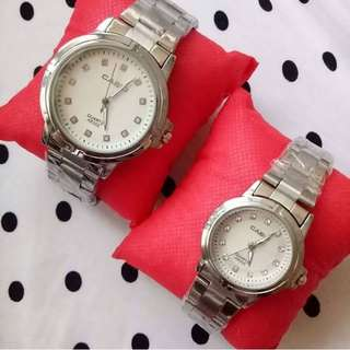 Casio Couple watch on hand